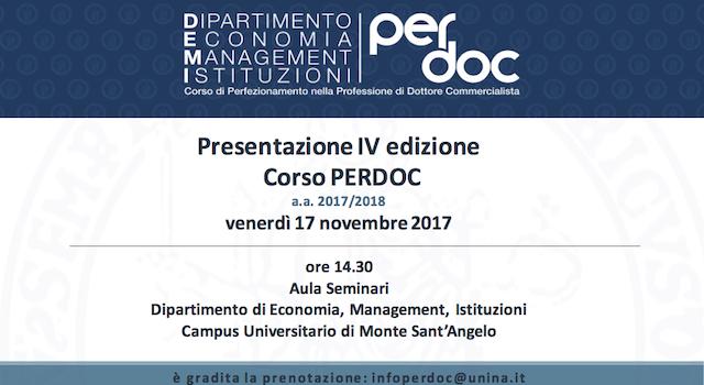 Presentazione-Corso-PerdocUnina-IV-edizione